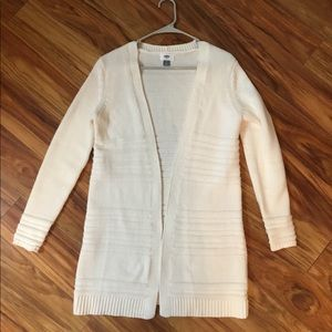 Old Navy cardigan sweater, SP. White/cream.